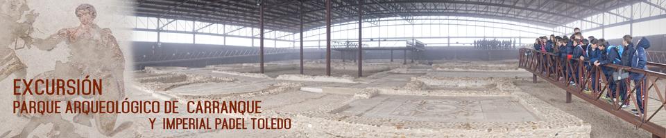 Visita al Parque arqueólogico de Carranque y a Imperial Padel Indoor