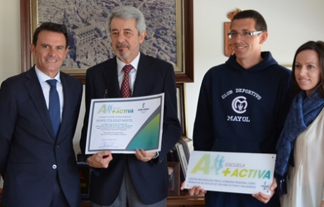 Gobierno Regional reconocimiento como escuela +activa