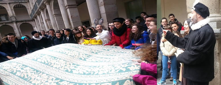 Visita a alcala de henares por alumnos de 3º ESO