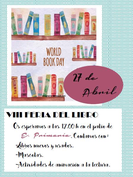 VIII Feria del Libro Colegio Mayol