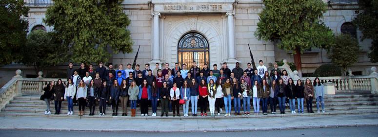 Visita Academia de Infantería Colegio Mayol