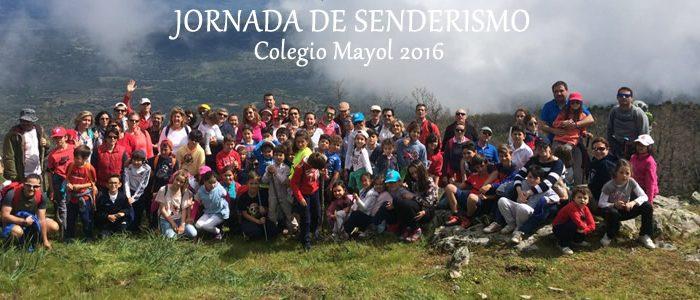 Jornada de Senderismo Colegio Mayol 2016