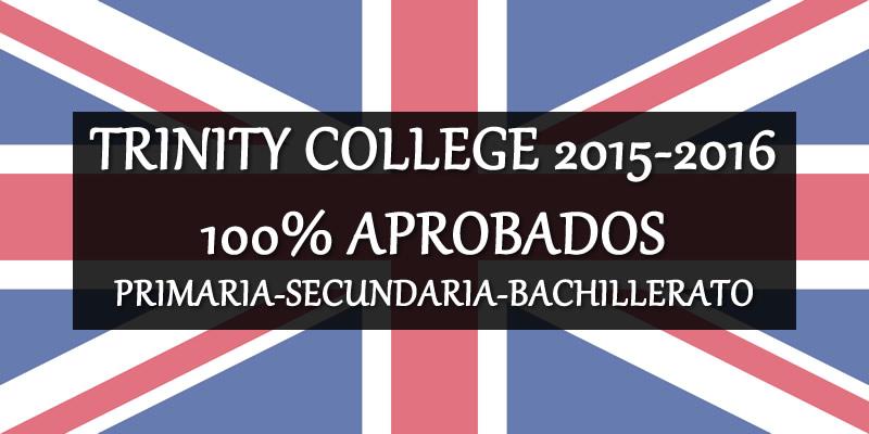 TRINITY COLLEGE 2015-16