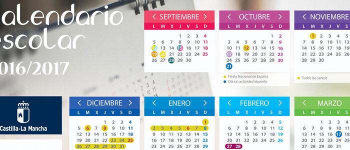 Calendario Academico Oficial 2016- 17 CLM