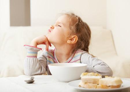 Rechazo a ciertos alimentos e inapetencia
