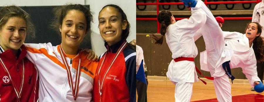 oro y plata para los karatecas del colegio mayol