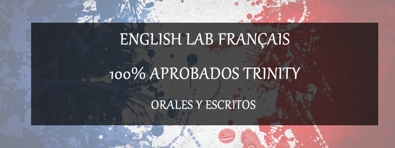 ENGLISH LAB FRANÇAIS 100% APROBADOS