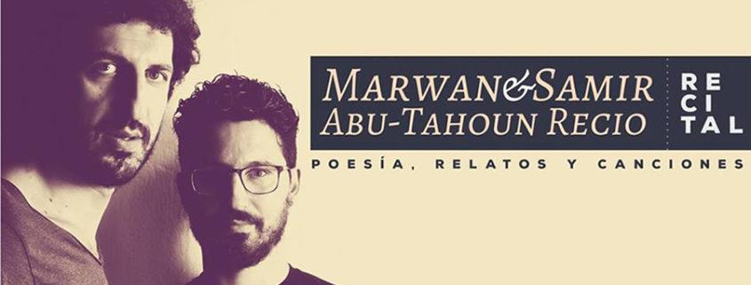 Cartel Visita de Marwan & Samir Abu