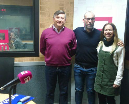 Día de la Enseñanza CLM, Entrevista a Laura Hernández con Fernando Bernácer en cmm
