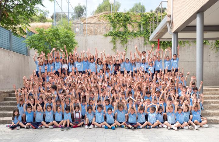 Alumnos del Club Deportivo Mayol