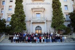 Visita Academia de Infantería de Toledo