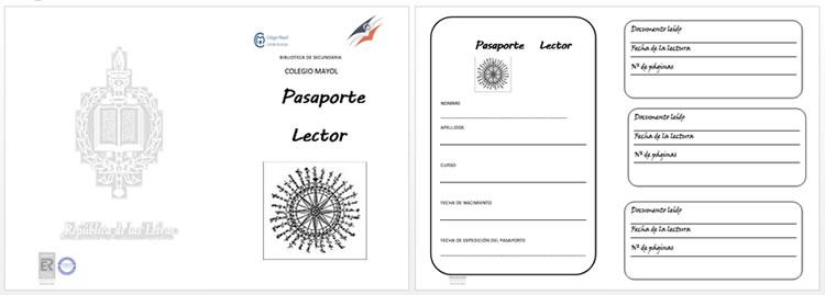 Pasaporte Lector - Biblioteca Colegio Mayol