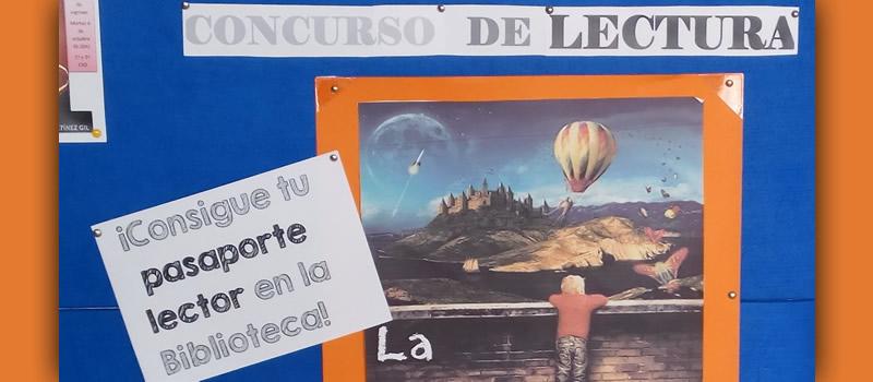 Concurso de lectura - Biblioteca Colegio Mayol