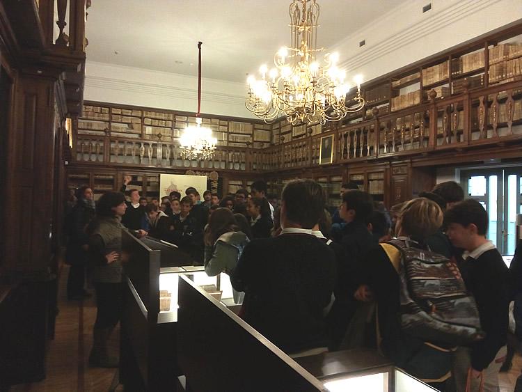 Visita a la Biblioteca Regional de CLM