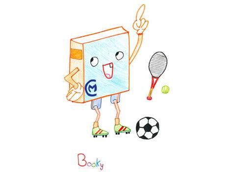La nueva mascota del Club y Biblioteca