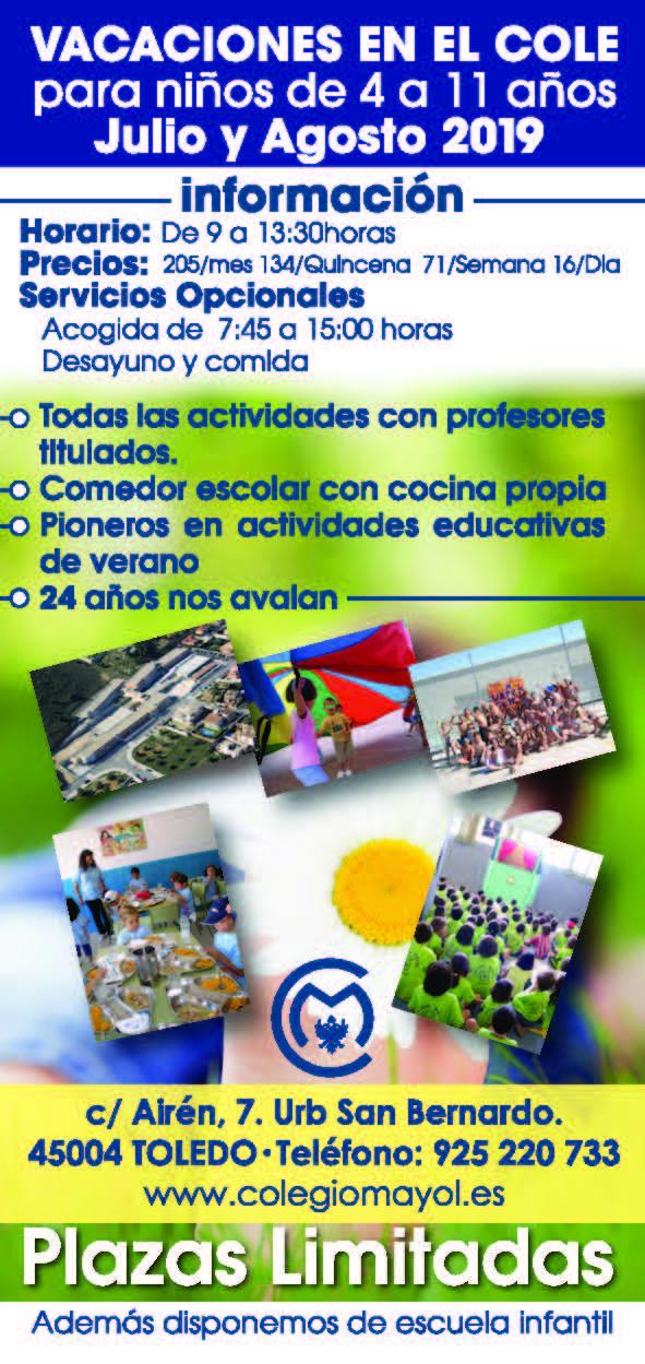 Colegio Mayol Vacaciones en el cole 2019
