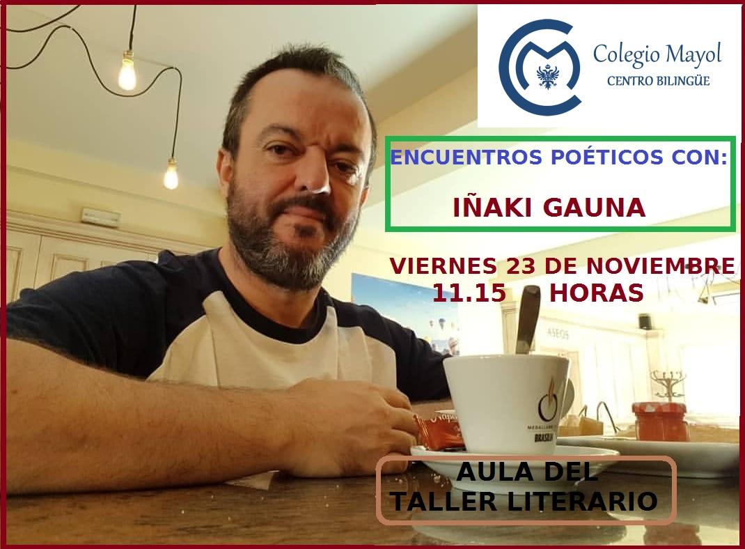 Encuentros poéticos con Iñaki Gauna