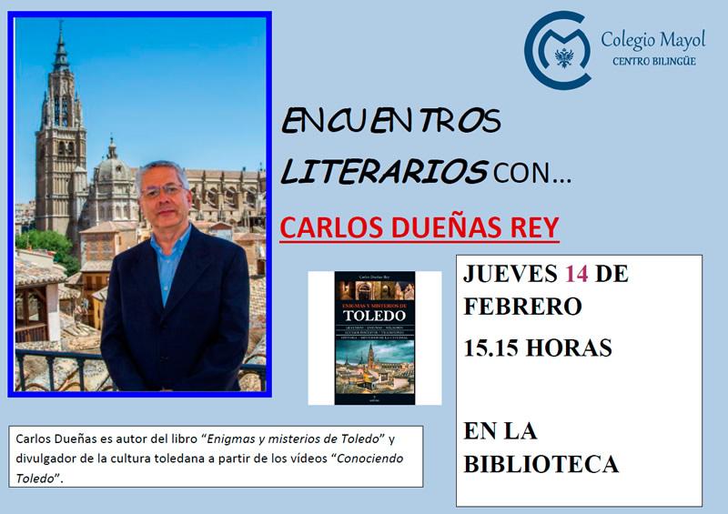 Carlos Dueñas nos visita