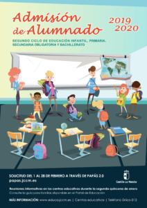 Admisión Alumnado 2019/2020 CLM