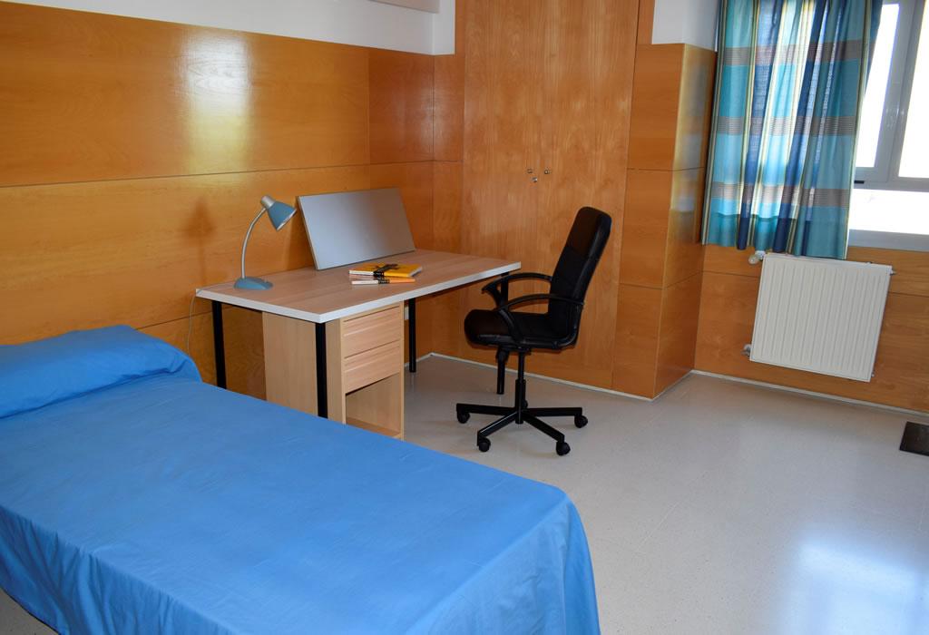 Detalle habitaciones - Residencia universitaria
