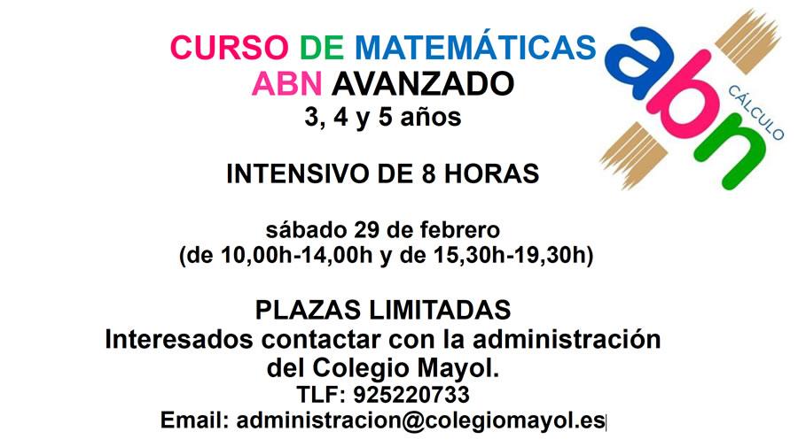 Curso ABN matemáticas