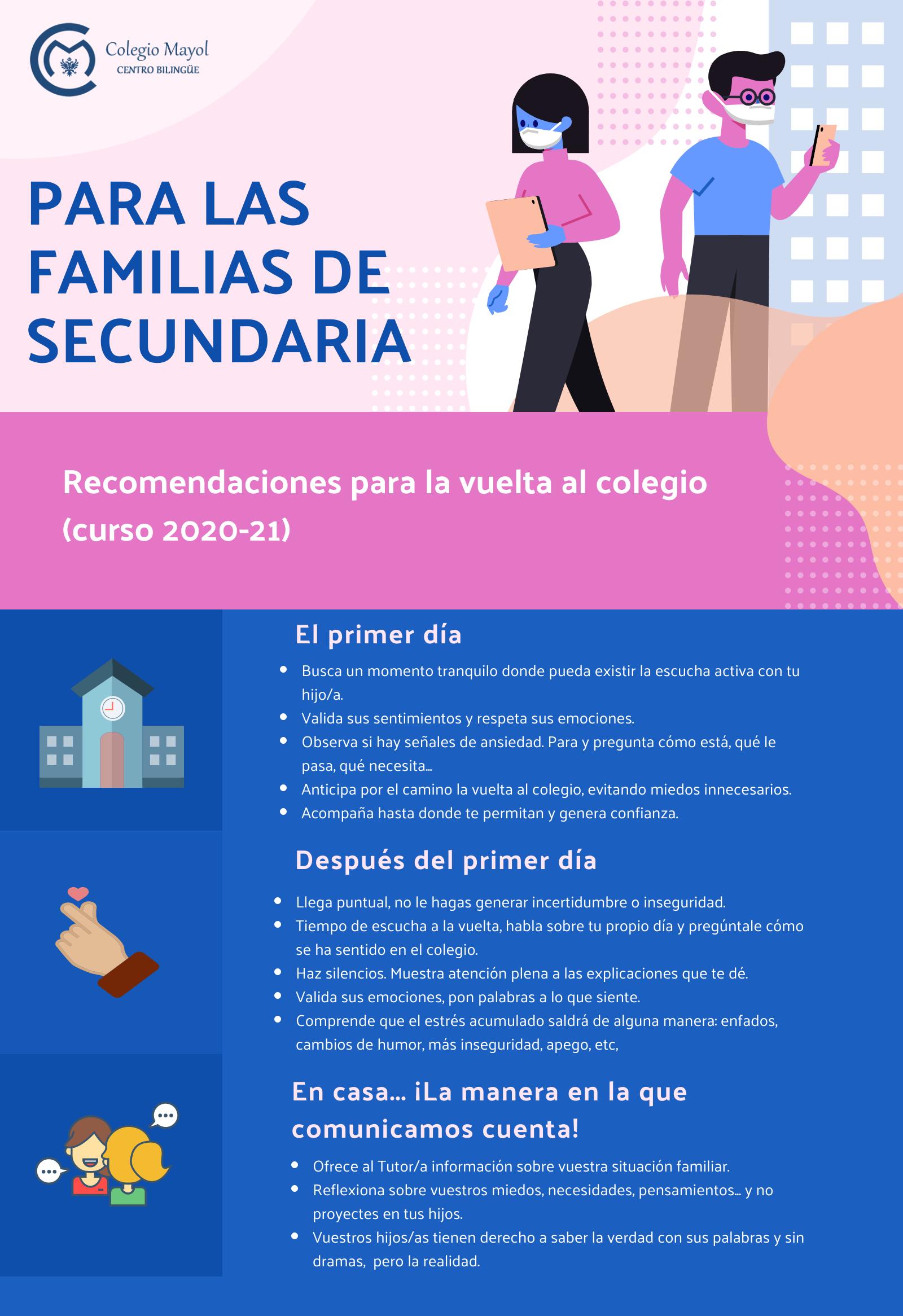 REGRESO A LAS AULAS SECUNDARIA 2020-21