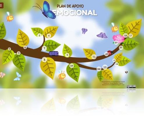 Plan de apoyo emocional para Ed. Primaria y Ed. Secundaria